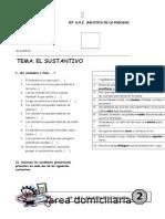 Practica El Sustantivo 1ero Sec.