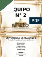 EPOCA COLONIAL HISTORIA DEL ECUADOR