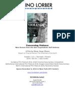 Concerning Violence Presskit