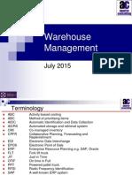 Warehouse management 2015