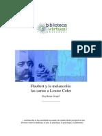 Flaubert y la melancolía