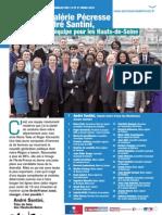 Tract liste Hauts-de-Seine