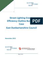 East Dunbartonshire Council Street Lighting Business Case