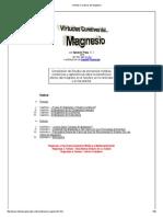 El Cloruro de Magnesio