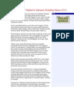 Thailand & Indonesia Wujudkan Skema AFTA