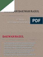 Thoriqoh Dakwah Rasul