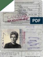 1838 Dc Tonsing, Martha Elizabeth Passport