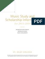 2014 St. Olaf Music Application