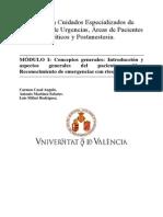 1 - Conceptos Generales Introducción y Aspectos Generales Del Paciente Critico. Reconocimiento de Emergencias Con Riesgo Vital