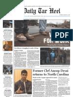 The Daily Tar Heel for Mar. 2, 2010