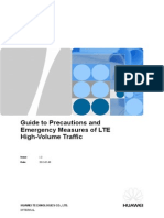 03 Guide to Precautions and Emergency Measures of LTE High-Volume Traffic-V2.0