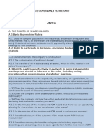 ICD Scorecard
