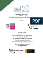 Atlas de Riesgo en El Municipio de San Andres Cholula