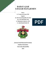 Modul Kuliah Dasar dasar manajemen