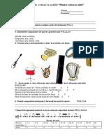 Probă de Evaluare Cl.8