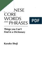Japanese Core Words & Phrases_Scissored Ultimate