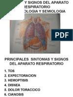 2. Signos y Síntomas Del Aparato Resp.