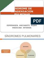 Sindrome de Condensación Pulmonar