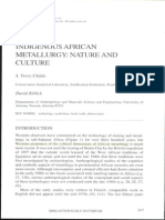 Indigenous African Metallurgy Nature and Culture