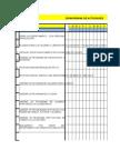 Cronograma de Actividades (Formato Blanco)