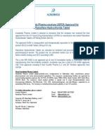Aurobindo Pharma receives USFDA Approval for Raloxifene Hydrochloride Tablet [Company Update]