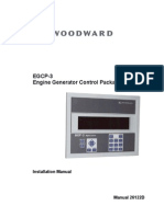 Woodward EGCP-3 Installation Manual