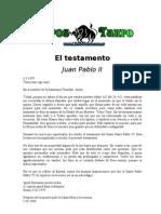 Juan Pablo II - El Test Amen To
