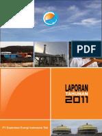 PT Exploitasi Energi Indonesia Tbk AnnualReport2011