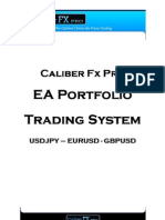 How To Forex trade with sucess - Caliber FX Pro - System Manual