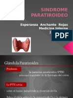 Sindrome Paratiroideo 11 Jun