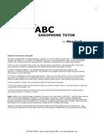 ABC Sax Tutor