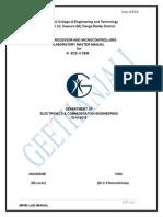 Mpmc Lab Manual