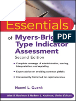 Wiley - Essentials of Myers-Briggs Type Indicator Assessment (2009)