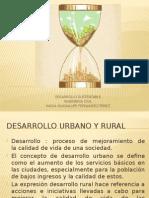 3.5 Desarrollo Urbano y Rural -3.6 Estilos de Vida y Consumo