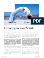 Drinking to Your Health
