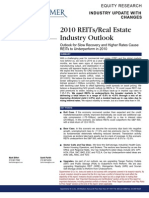 REIT Industry Outlook