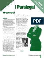 2009 FF Job Descriptions Paralegal Duties