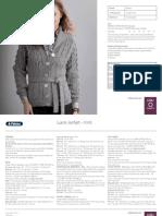 Patons Short Lace Jacket