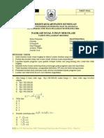Soal US Matematika Teknik - Paket A