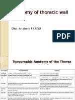 K 13 Anatomy of Thoracic Wall