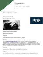 II Concurso Fotográfico La Fontana