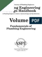 Plumbing Engineering Design Handbook - Vol 1 (2004)