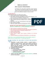 Medical Genetics 2013 3rd