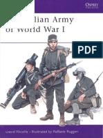 Osprey 387 MAA - The Italian Army of World War I