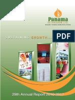 Panamapanama petroleum 2011 annual report india corporate