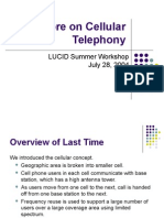 More on Cellular Telephony2090