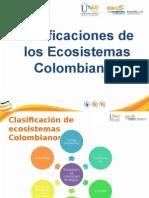 Clasificación de Los Ecosistemas Colombianos