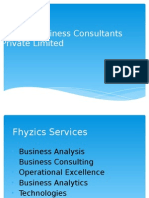 Fhyzics' P-S-P Approach in Business Analysis