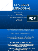 Perpajakan Multinasonal