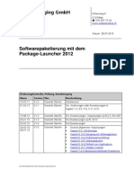 Softwarepaketierung mit dem Package-Launcher